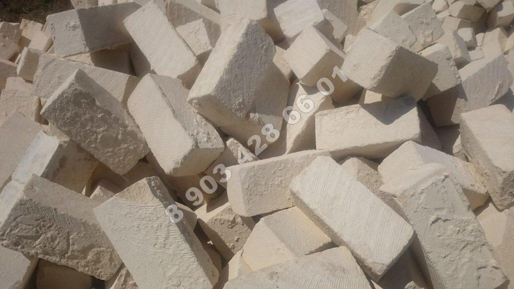 Дагестанский песчаник разм 380*190*190 мм. Цена 150 р.