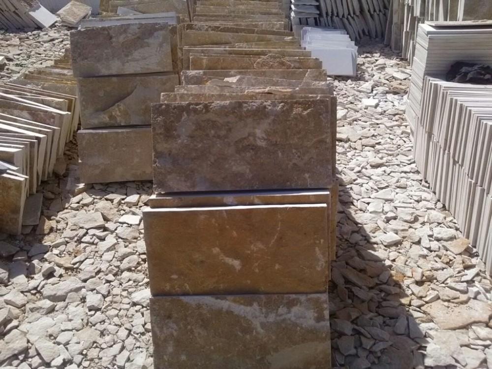 Плиты из мекегинского доломита разм 600-300 мм 1200 р м2