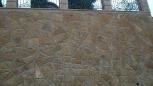Мозаика из мекегинского доломита