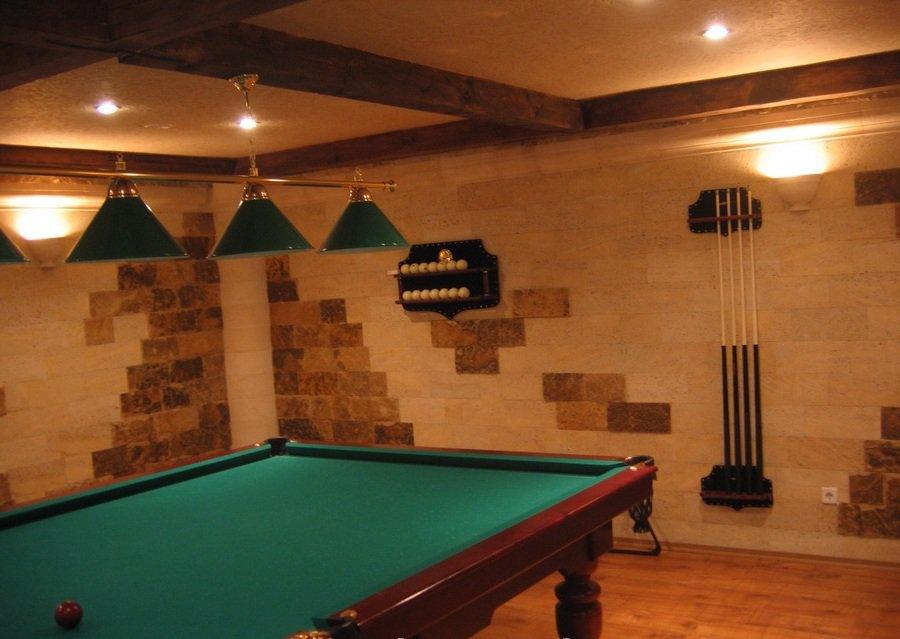Дизайн интерьера в работе использован мекегинский доломит