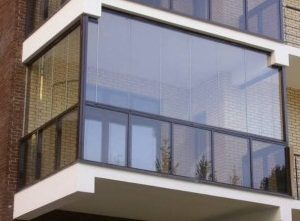 балкон из поликарбоната