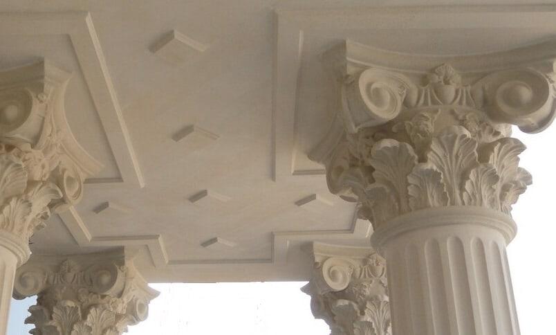 колонны и капители из дагестанского камня
