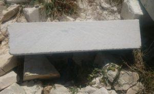Блок из акушинского известняка 200-200-800мм