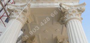 Купить колонны и капители из дагестанского камня