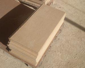 Плиты из чиринского камня разм 600-300-20мм 1300р-м2