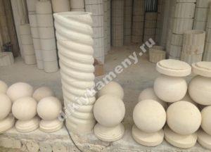 Шары для украшения колонн