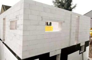Строительство дома при помощи пенобетонных блоков1