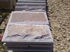 Большие плиты из мекегинского доломита разм 600-300мм